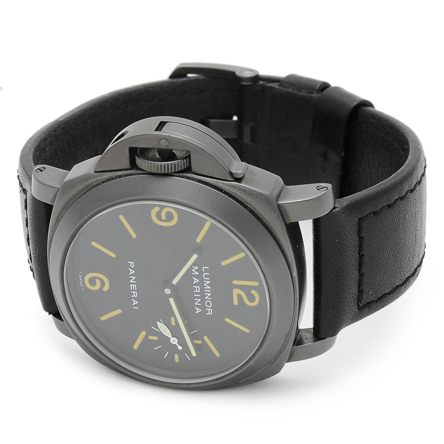 ブランド時計を買うなら名古屋大須のリベロ[Ribero]                          オフィチーネ・パネライ ルミノールマリーナ レフティ Ref.PAM00026 A品番 箱付 USED 241115023Original text