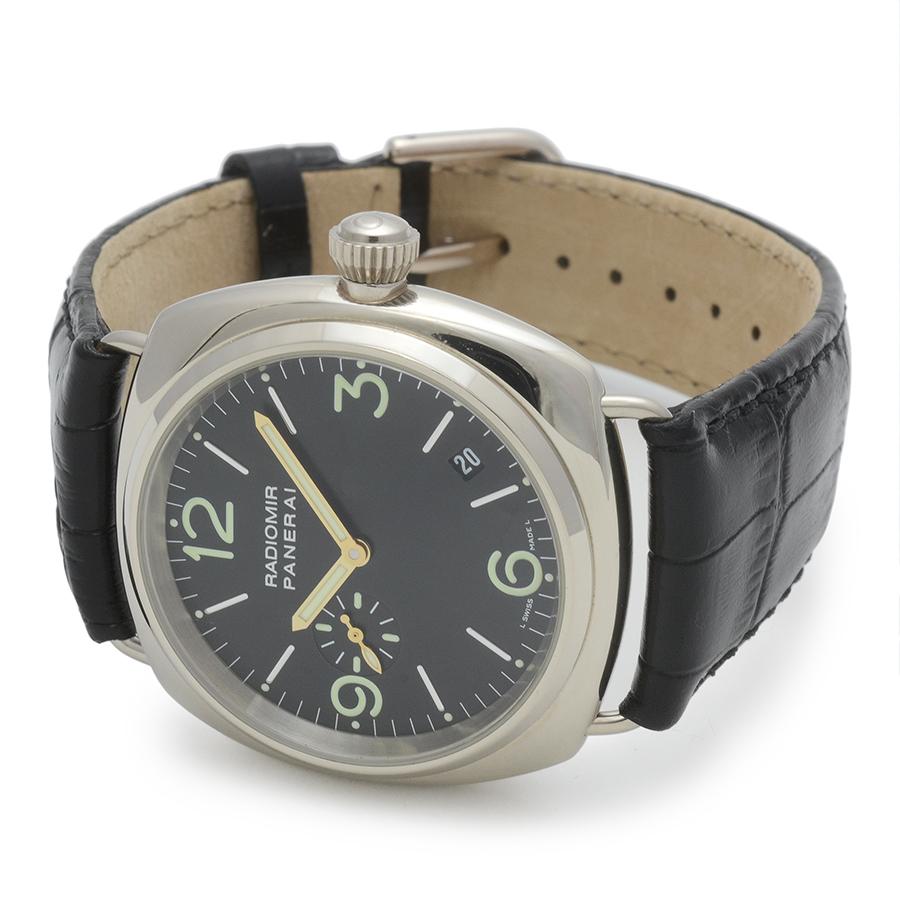 ブランド時計を買うなら名古屋大須のリベロ[Ribero]                          オフィチーネ・パネライ ラジオミール Ref.PAM00062 K18WG 自動巻 箱、保証書付 USED 311015024Original text